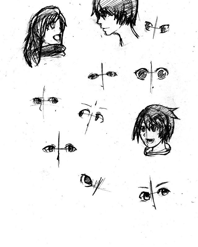 目の練習1
