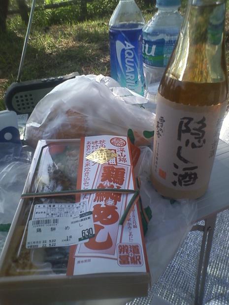 男鹿桜島野営場
