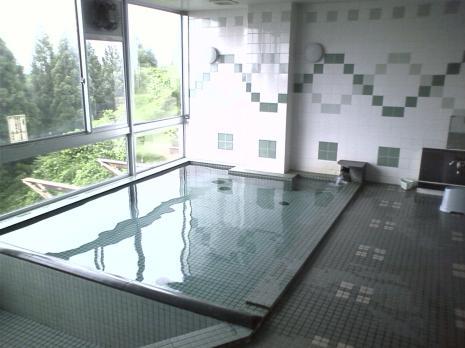 京ヶ岳の風呂