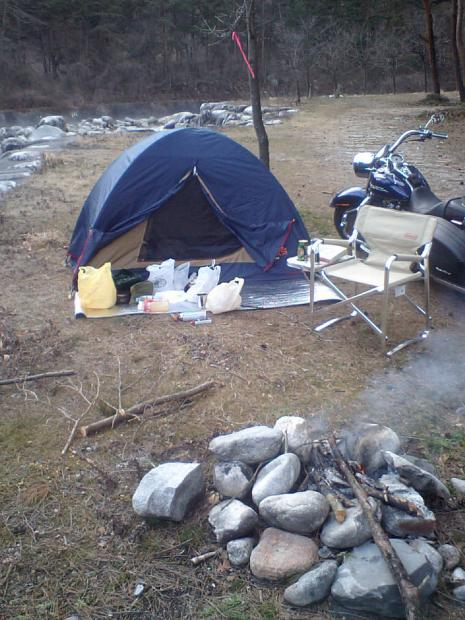 御座松キャンプ場