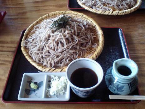 野沢温泉 蕎麦