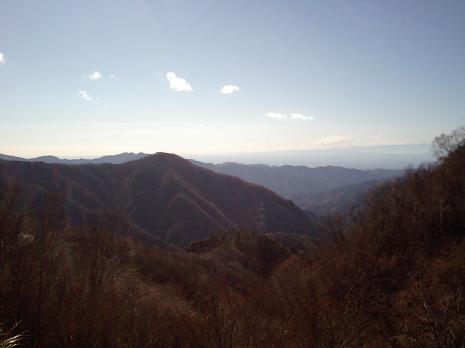 袈裟丸山登山口