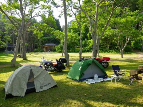 沼の浜キャンプ場
