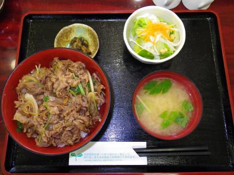 前沢SA、前沢牛牛丼1500円