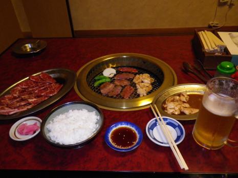 美瑛での夕食