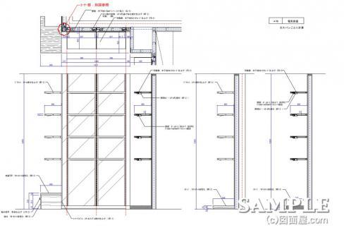 10壁面棚P-6(STAGE)詳細図2