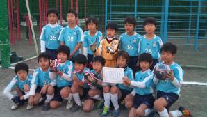 【2011ドリームカップ】 青葉FC U9 準優勝おめでとう!