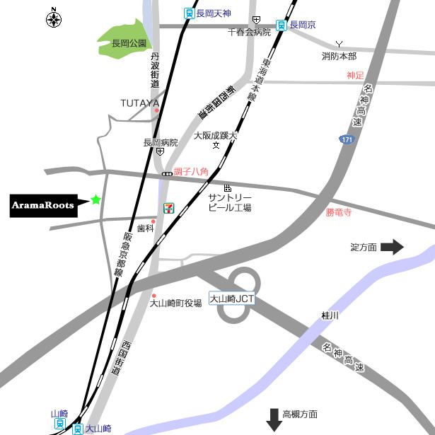 わかりやすい地図つくりました。