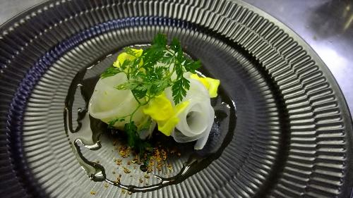 IN salata di daikon