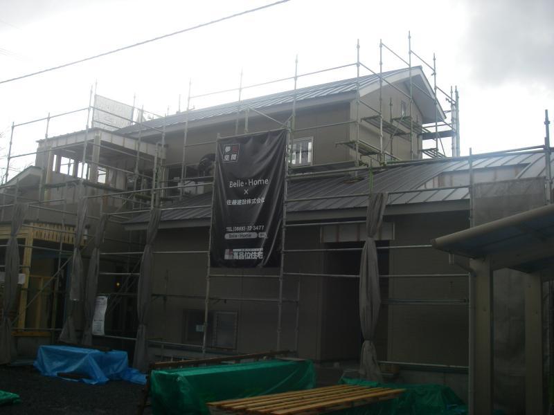 新築住宅 サイディング!