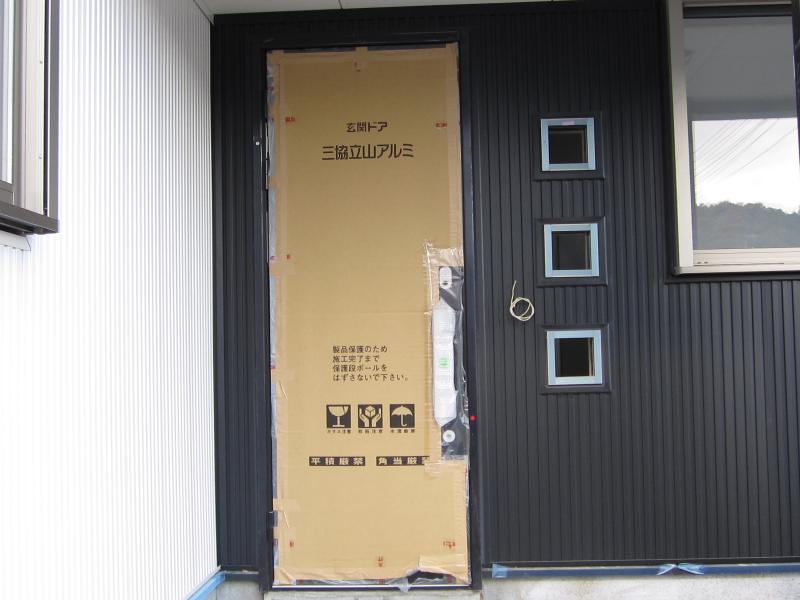 玄関ドア!