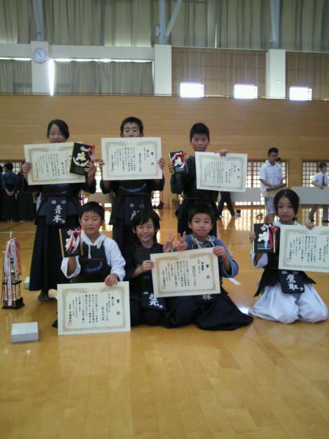 美作市剣道大会