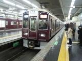 201411阪急梅田駅河原町行き特急