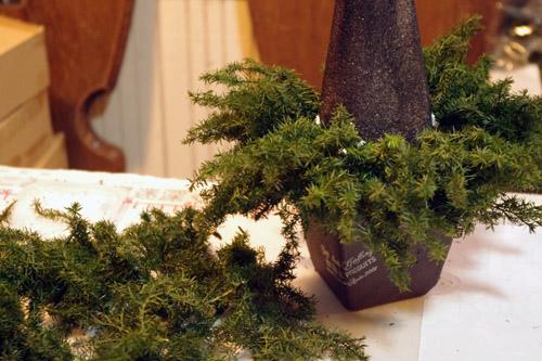 木の実のフォレストツリー製作過程