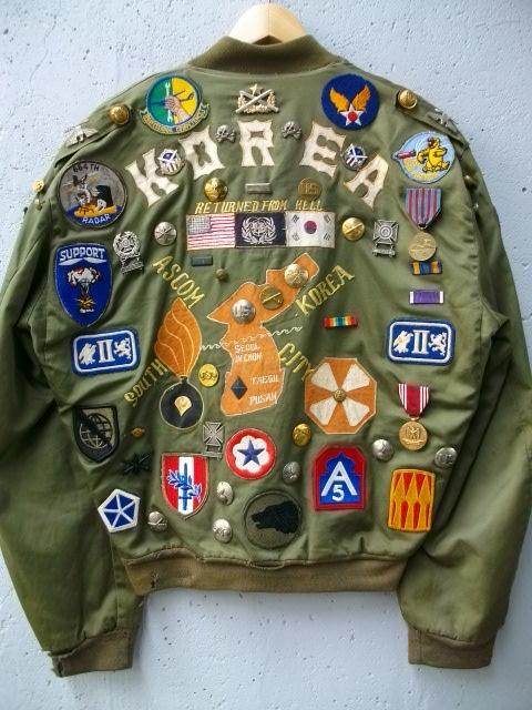 1950'S U.S. ARMY KOREA WAR JACKET!! - 東京・中目黒の古着屋 Cider ...