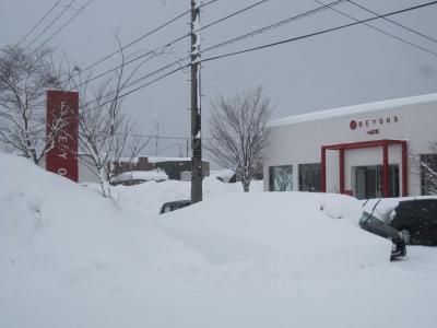 店舗外観(冬)