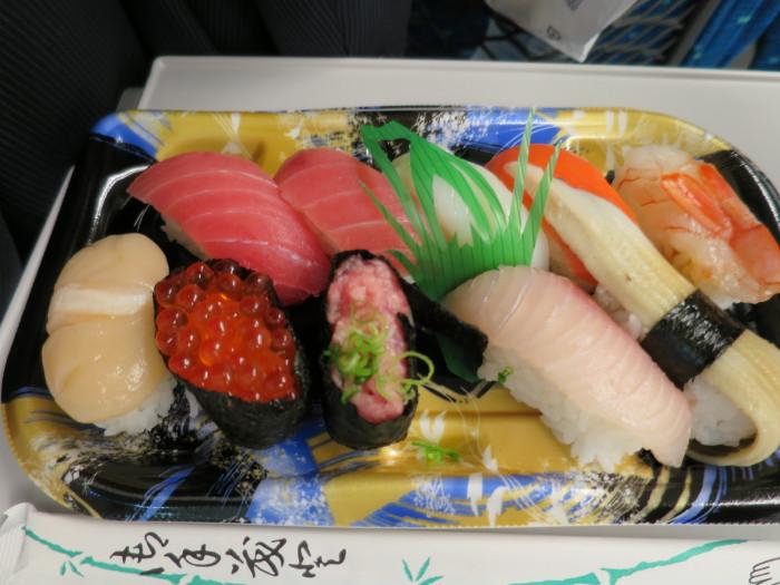 東京駅 駅弁 お寿司