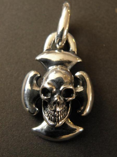 Gaboratory,Gabor,Silver,Pendant,Battle-ax,Skull,ガボラトリー,ガボール,ペンダント,バトルアックス,スカル