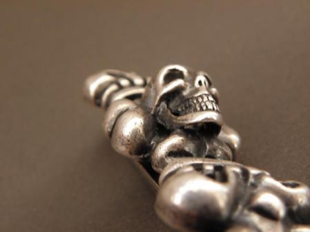 gaboratory,gabor,silver,wallet,chain,skull,ガボラトリー,ガボール,シルバー,ウォレット,チェーン,スカル