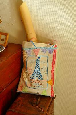 かわいい刺繍バッグ♪