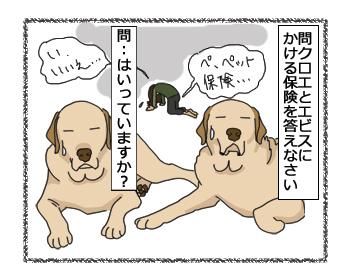 羊の国のラブラドール絵日記シニア!!「保険のオハナシ再び」4