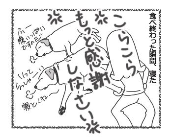 羊の国のラブラドール絵日記シニア!!「一切れのバナナ」4