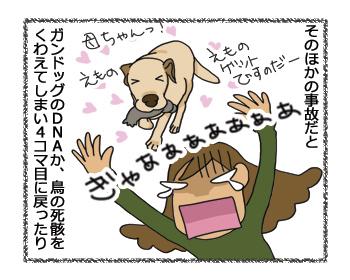 羊の国のラブラドール絵日記シニア!!「犬種ならでは?」5