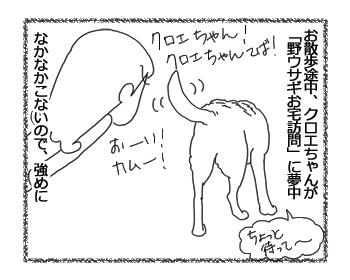 羊の国のラブラドール絵日記シニア!!「お選びください」4コマ1