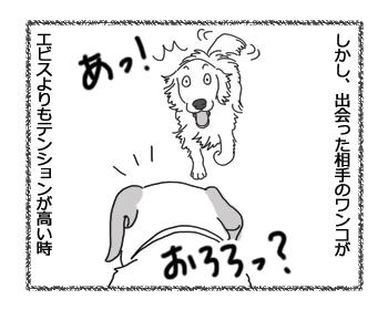 羊の国のラブラドール絵日記シニア!!「エビスの先輩風」3