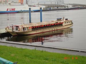 濱田屋の屋形船