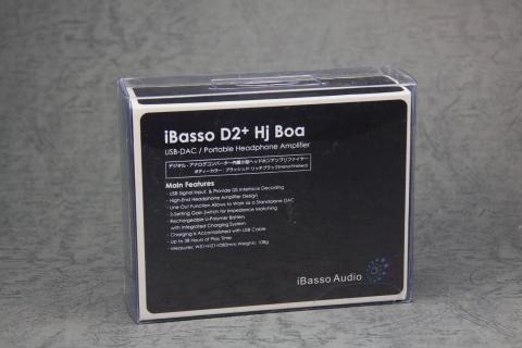 ibasso D2+ hj boa  ポータブルヘッドホンアンプ 箱