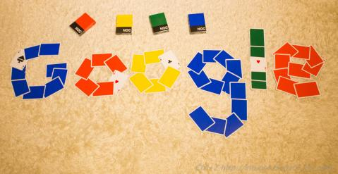 NOC V2 カード Google ロゴ The Blue Crown