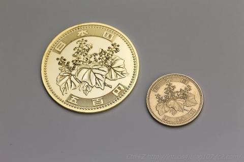 ビックコイン500円 マジックエフェクト ゴールド