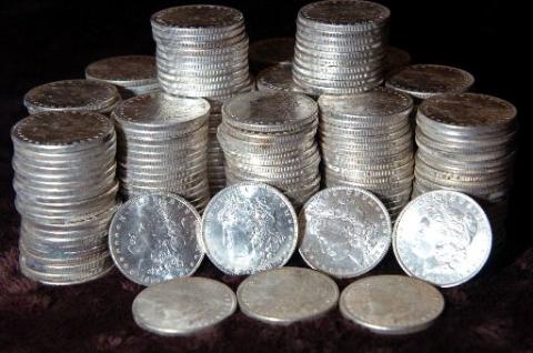モルガン 銀貨