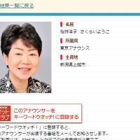 桜井洋子アナ
