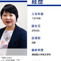 山田隆子アナ