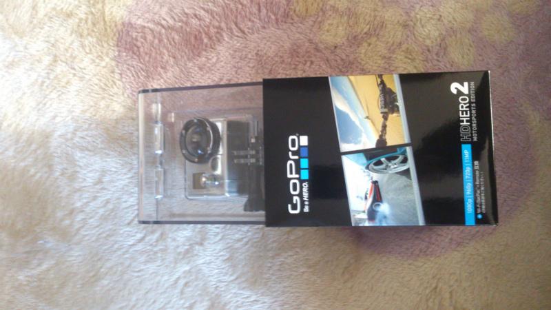 GoPro HERO2購入しちゃいました