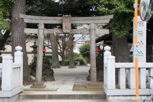 四葉稲荷神社(板橋区四葉)1