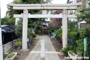 大松氷川神社(練馬区北町)1
