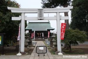 氷川神社(練馬区高野台)1