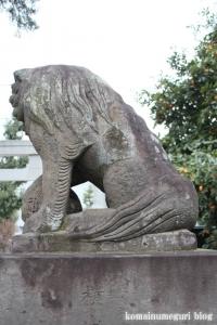 氷川神社(練馬区高野台)19