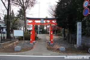 三ケ島稲荷神社(所沢市三ケ島)1