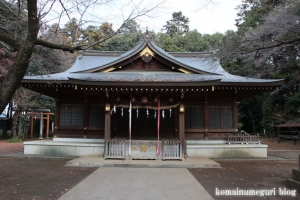 北野天神社(所沢市小手指元町)12