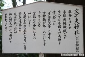 北野天神社(所沢市小手指元町)28