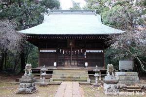 鳩峰八幡神社(所沢市久米)10