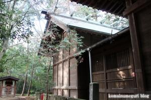 鳩峰八幡神社(所沢市久米)13