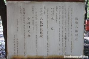 鳩峰八幡神社(所沢市久米)38