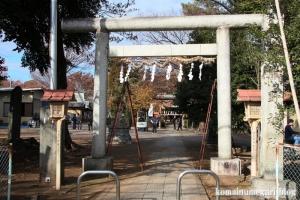 熊野神社(所沢市西新井町)1