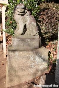安松神社(所沢市下安松)5
