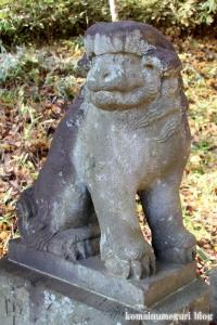 安松神社(所沢市下安松)10